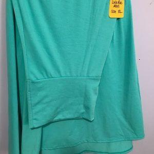 Teal XL LulaRoe Maxi Skirt